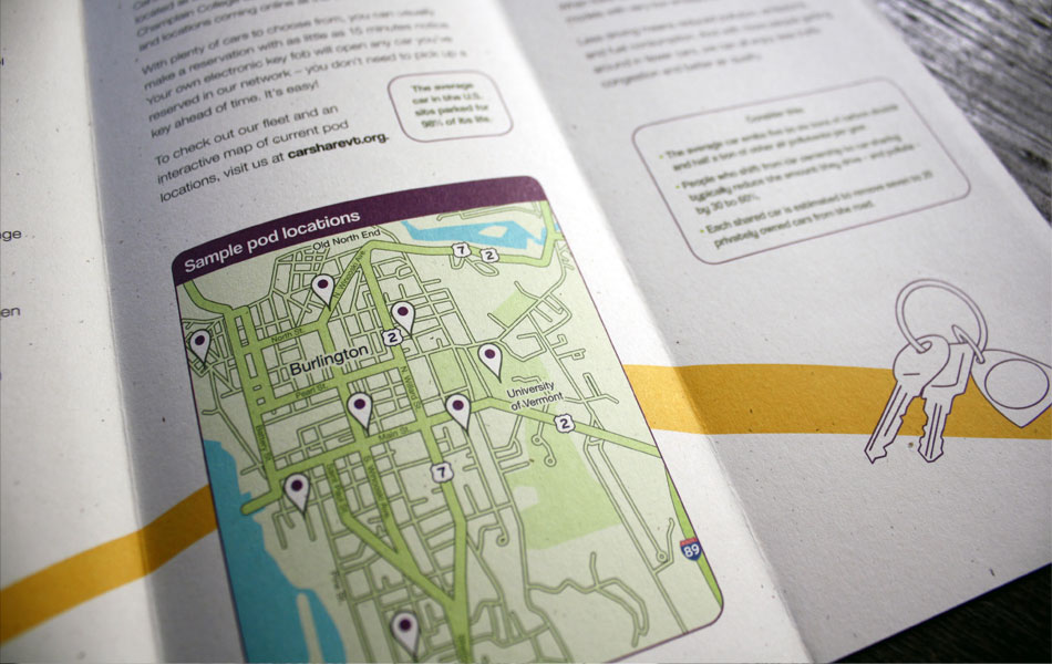 CarShare Vermont overview brochure