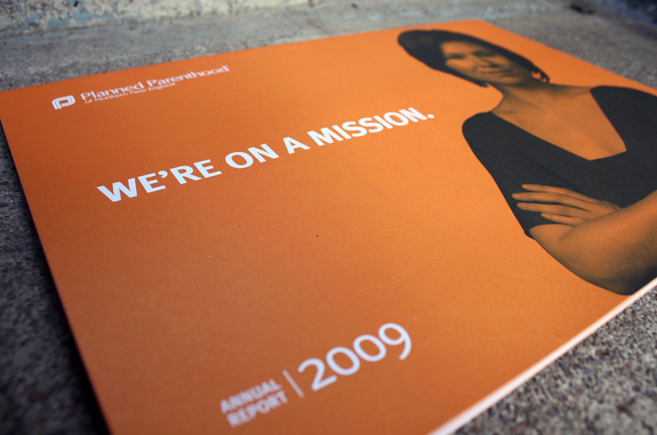 PPNNE annual report 2009, cover