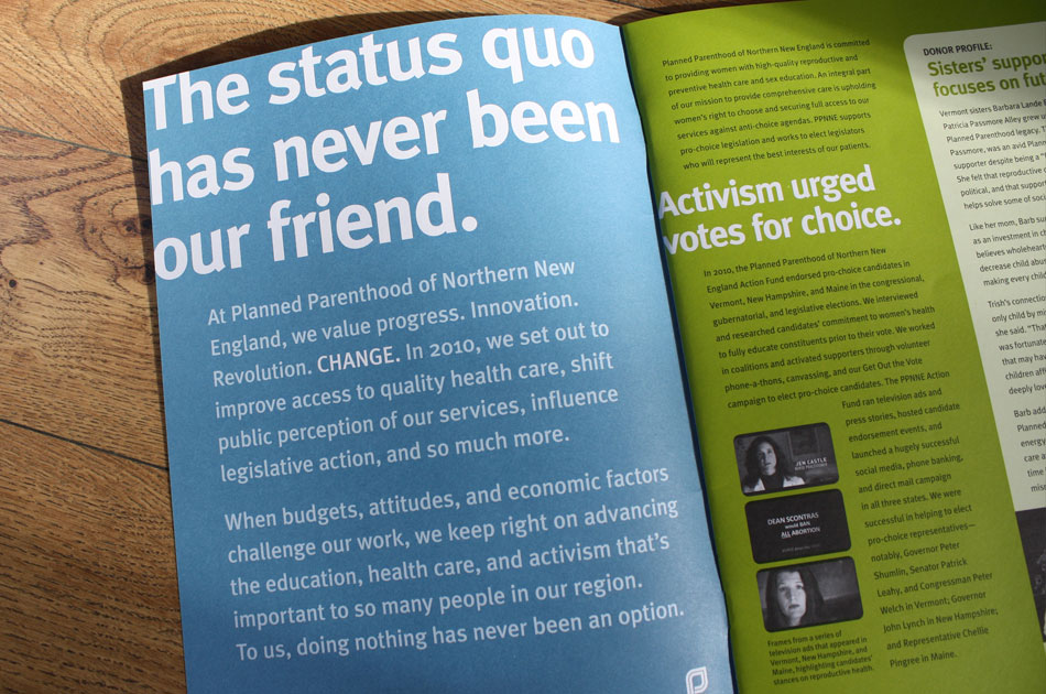 PPNNE annual report 2010, detail